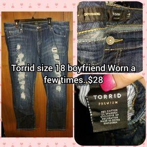 Torrid size 18 boyfriend